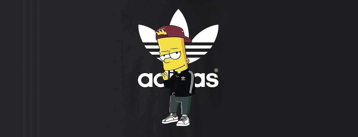 adidas Simpsons