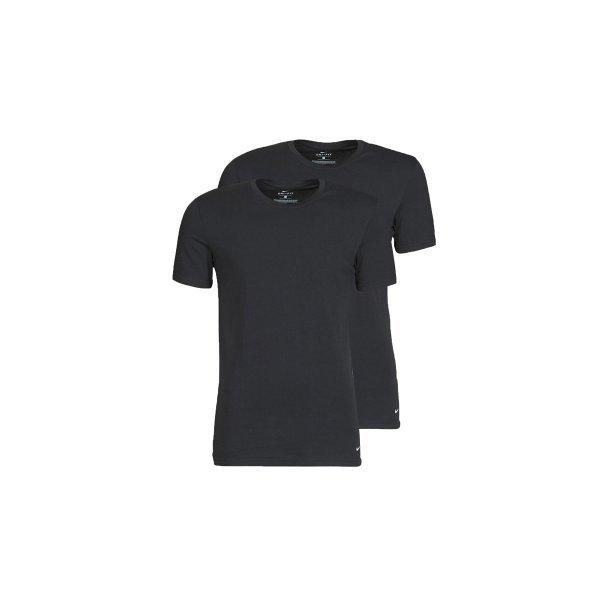 Nike Nike Everyday Cotton Stretch Crew Neck Undershirt 2 Pack