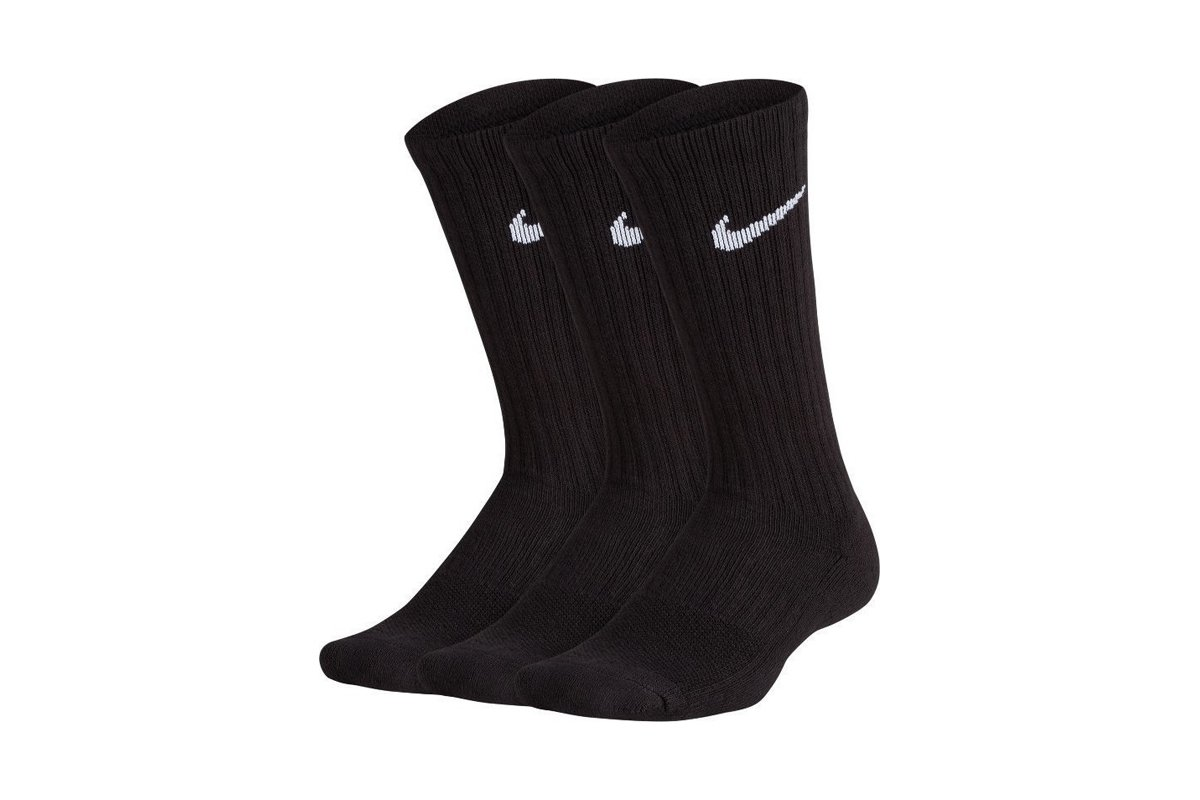 NIKE PERFORMANCE COTTON CUSHIONED CREW (SX6842 010)